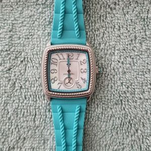 Judith Ripka Turquoise Watch